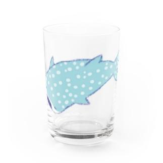 ジンベエザメ Water Glass