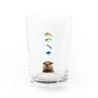切り身たべたいなあ Water Glass