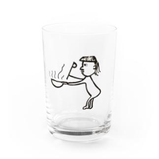 中華二番 Water Glass