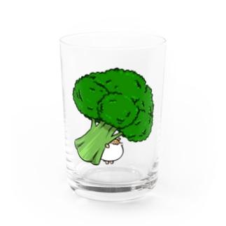 ブロッコリーきなこ Water Glass