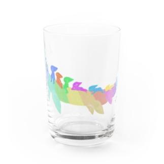 タクサンイロザウルスさん。 Water Glass