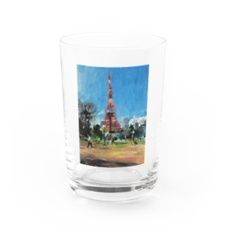 in Tokyotower Water Glass