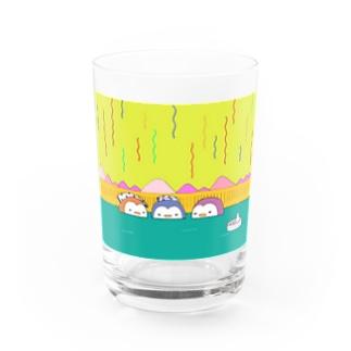 ペンギン温泉会 Water Glass