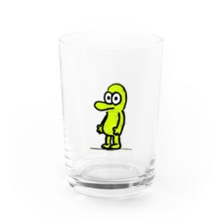 柄デンジャー Water Glass
