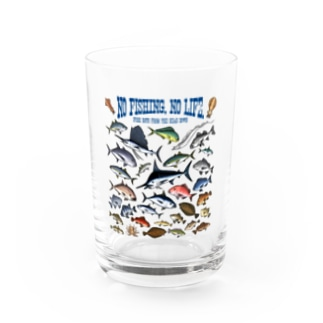 Saltwater fish_3C Water Glass