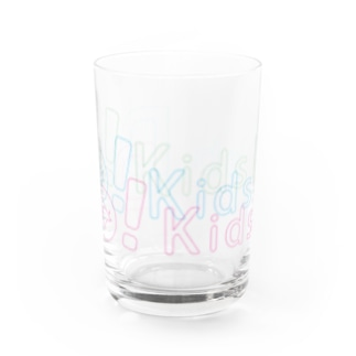 Do! Kids Lab公式 キッズプログラマー パステル系ロゴ Water Glass