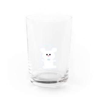 おNEWな白くまくん Water Glass