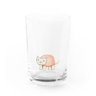 ねこかめ Water Glass