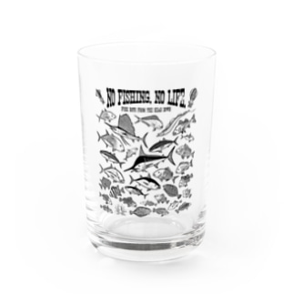 Saltwater fish_3K Water Glass