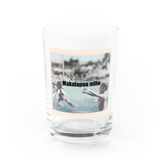 Makalapuamiho funny Water Glass