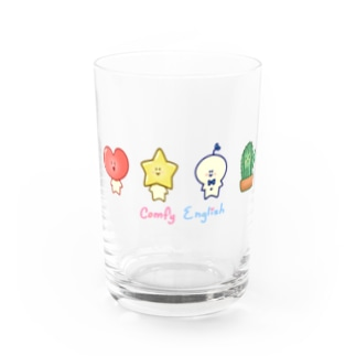 Comfy Friends こども英会話グッズ Water Glass