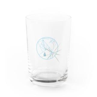 月に Water Glass
