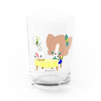 Cosmic TM colorsのステキなお茶会に致しましょう♬ Water Glass