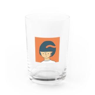 ウルフな女の子 Water Glass