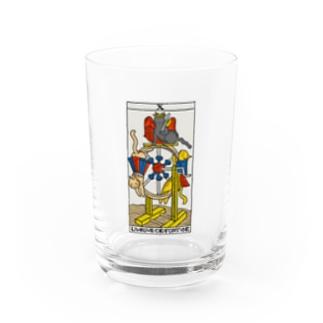 ネコタロット(運命の輪) Water Glass