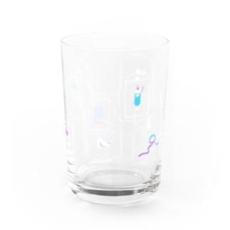 喫茶一昨日 窓 Water Glass