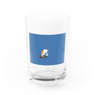 ちょいちょいしたい猫 Water Glass