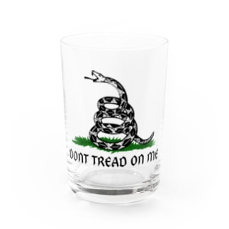 Dont Tread On Me Gadsden Flag Water Glass