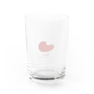 eal ロゴグラス_pink(購入特典付き) Water Glass