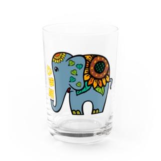 ひま象 Water Glass
