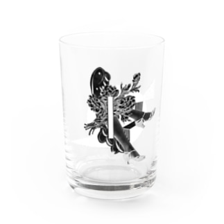 walking on the moon Water Glass