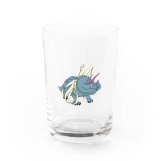 トリケラトプスちゃん Water Glass