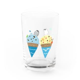 南極・北極アイス Water Glass