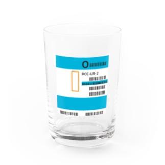 輸血(O型)グラス Water Glass