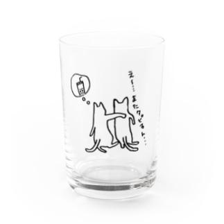 k_iのえ〜またタピるん・・・猫 Water Glass