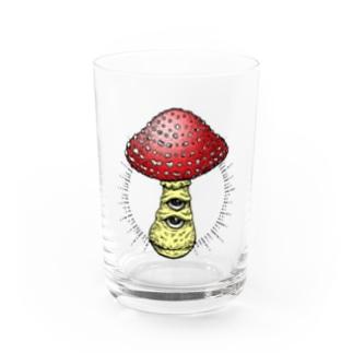 神秘のキノコ Water Glass