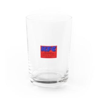 スケボーしそうな KFC  Water Glass