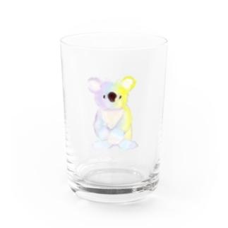 夢のようなコアラよ Water Glass