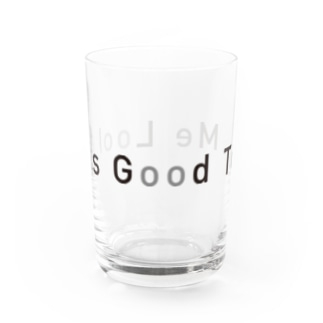 Looks Good To Me Water Glass