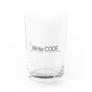 Write code Water Glass
