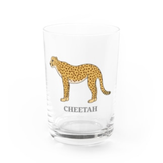 チーター Water Glass