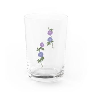 朝顔のグラス Water Glass