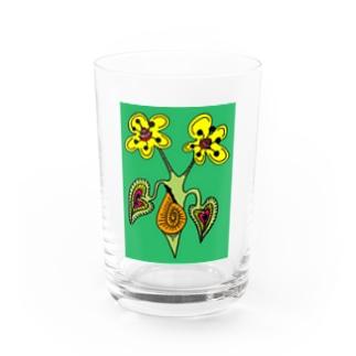 Hanamebontsumuri Water Glass