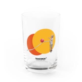"""Bowling"" Water Glass"