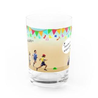 うんどうかい Water Glass