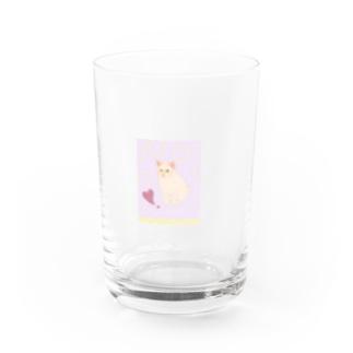elegant & funny 猫さんシリーズ Water Glass