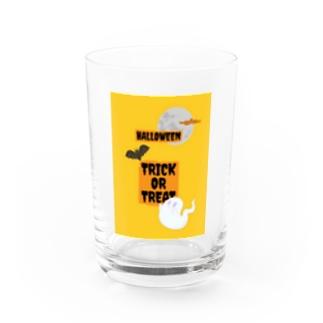 Happy Halloween Trick or Treat!! Water Glass