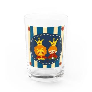 小さな王様たち Water Glass