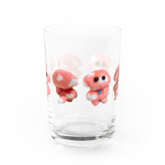 Lovelyいぬよし Water Glass