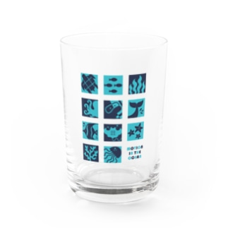 Motion In The Ocean Water Glass
