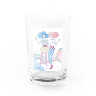 Cotton☆Candy Water Glass