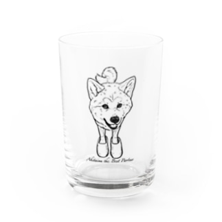 Akitainu is the best partner Water Glass