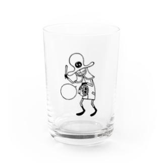 南京小僧(討入男)黒 Water Glass