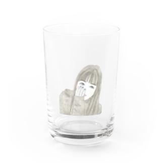 GIRL「戸惑い」 Water Glass