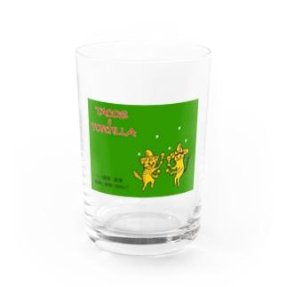 【マッチ箱デザイン】tacos&tortilla Water Glass