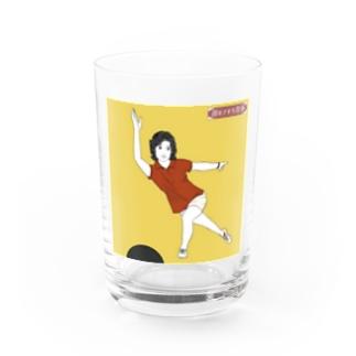 さわやか律子さん Water Glass